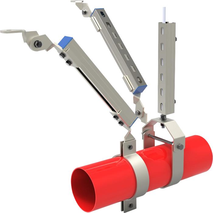 福建金属抗震支架货源推荐 服务为先 温州协力工程支架供应