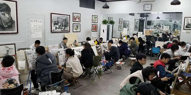 潘南小學附近考級美術輔導價格 淄博新動力畫室服務