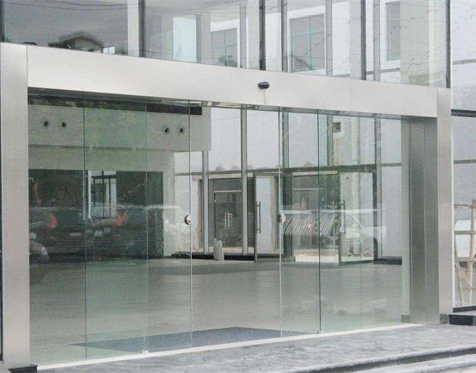 南京玻璃感應門定做,玻璃感應門