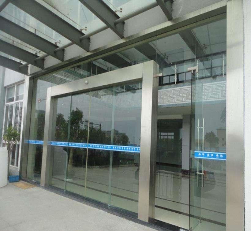 杭州賓館玻璃感應門配件,玻璃感應門