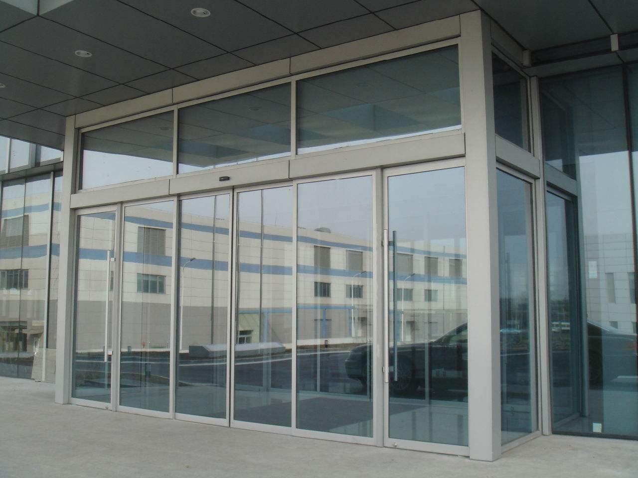 徐州不銹鋼玻璃感應門訂做,玻璃感應門