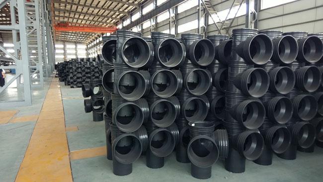 泉州三层壁复合增强排污管现货供应 诚信为本  厦门兴世新型材料供应