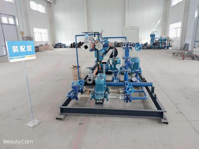 新疆智能型整體式換熱站設備廠家「新疆圣德機電供應」