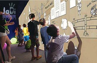 汕头墙面互ξ 动投影「厦门市加幸运快三彩票平台迪智能科技供应」