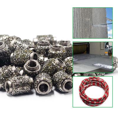 杭州金刚石电镀绳锯珠子 欢迎咨询「厦门一晶科技供应」