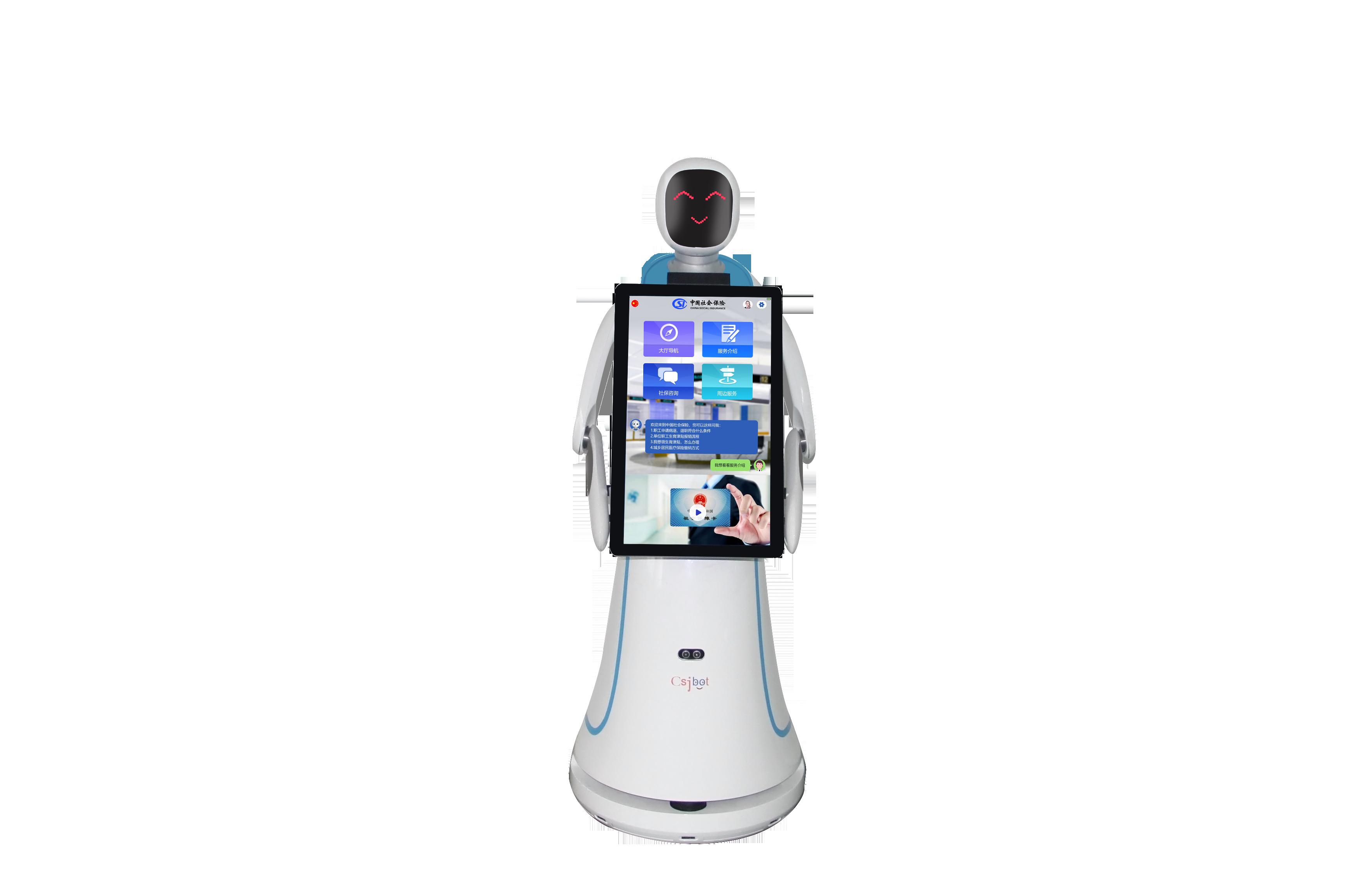 直销迎宾服务机器人品质售后无忧 抱诚守真 昆山新正源机器人智能科技供应