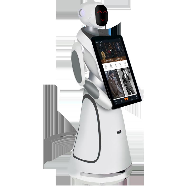 直销迎宾服务机器人价格合理 欢迎来电 昆山新正源机器人智能科技供应