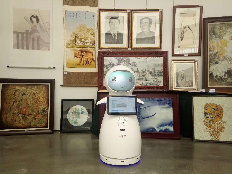 济宁展厅讲解机器人值得信赖 诚信为本 昆山新正源机器人智能科技供应