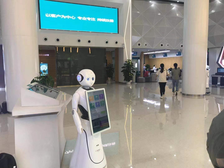 四川行政服务机器人高性价比的选择 贴心服务 昆山新正源机器人智能科技供应