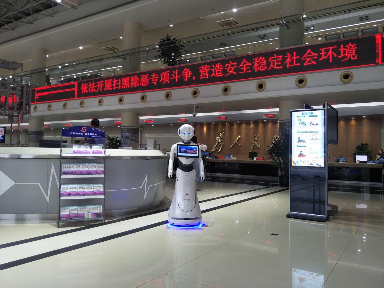 惠州迎宾接待机器人市场前景如何 贴心服务 昆山新正源机器人智能科技供应