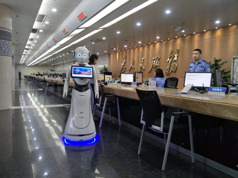 淮安迎宾接待机器人销售价格