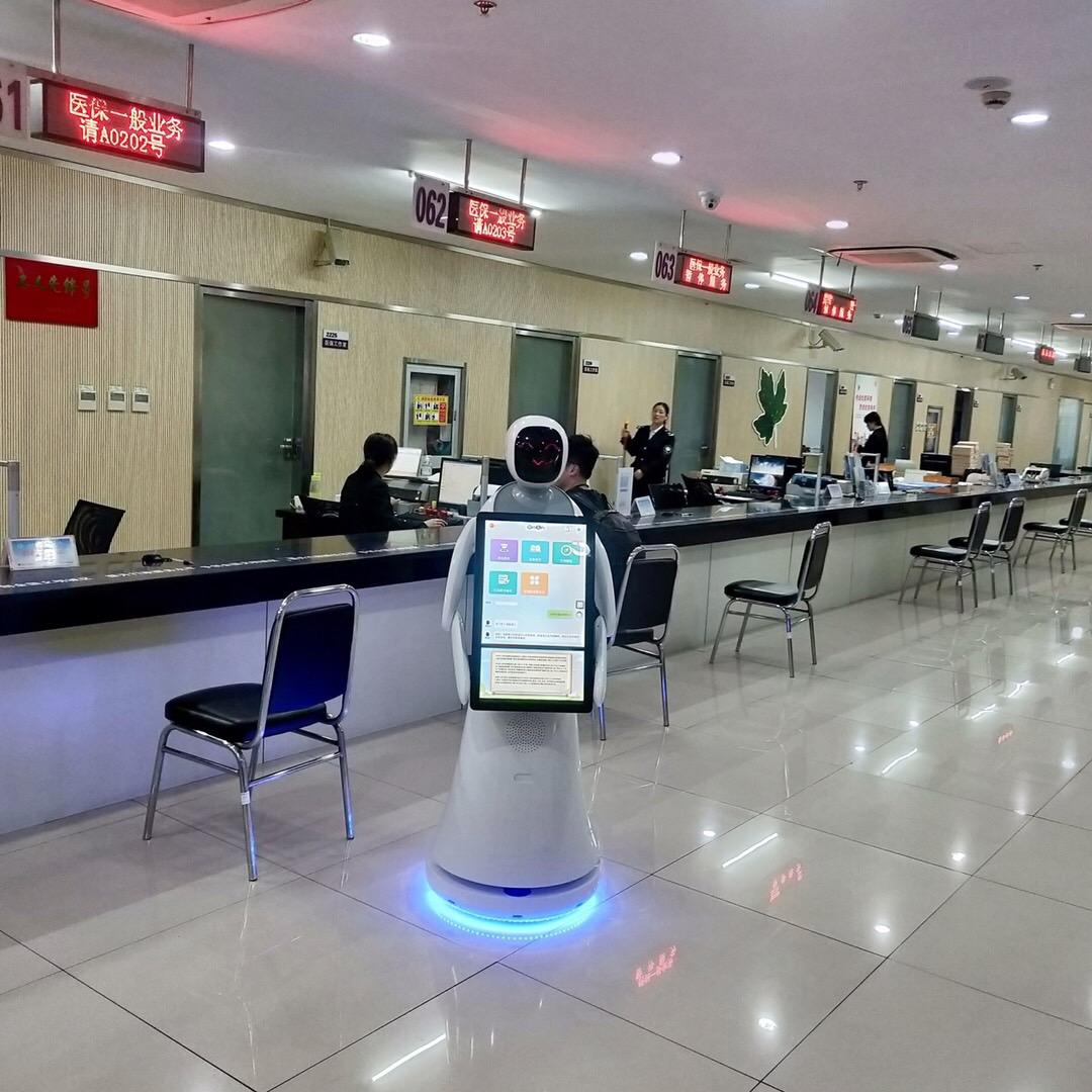 上海口碑好智能银行服务机器人销售价格 值得信赖 昆山新正源机器人智能科技供应