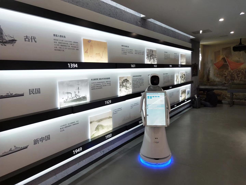 陕西优质迎宾接待机器人报价 创新服务 昆山新正源机器人智能科技供应