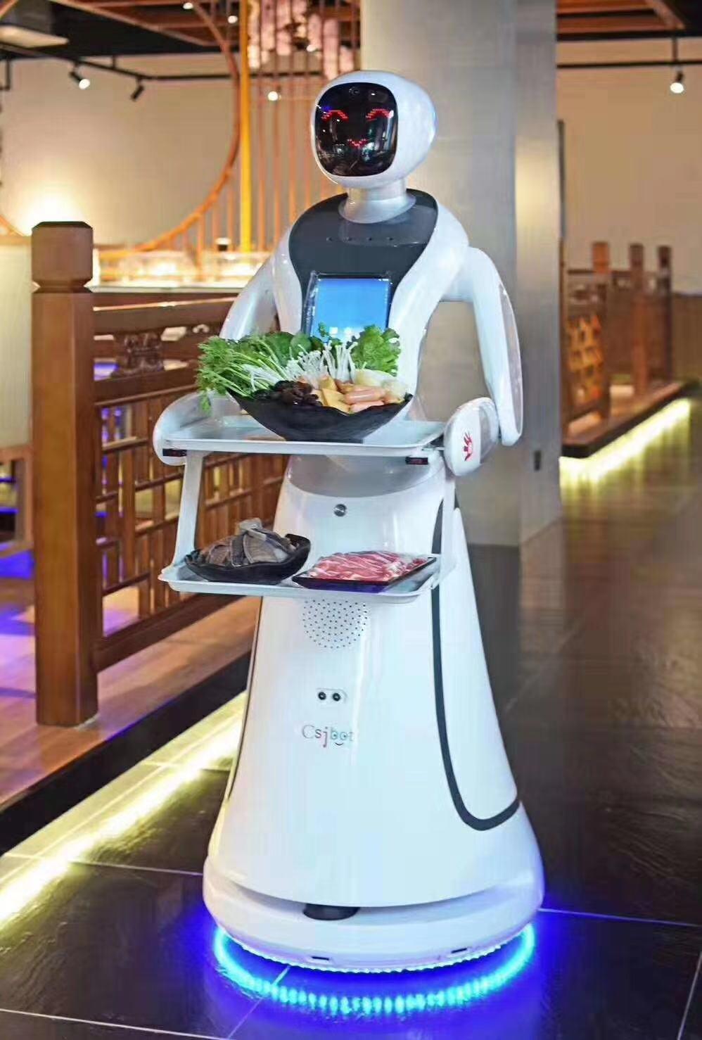 福建专业送餐机器人销售电话 有口皆碑 昆山新正源机器人智能科技供应
