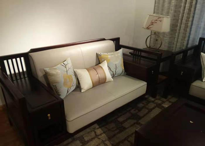 山东新中式沙发坐垫,沙发坐垫