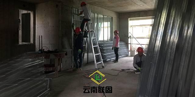 新疆中空内模金属网轻质隔墙的用途和特点 诚信服务 云南联固建筑材料供应