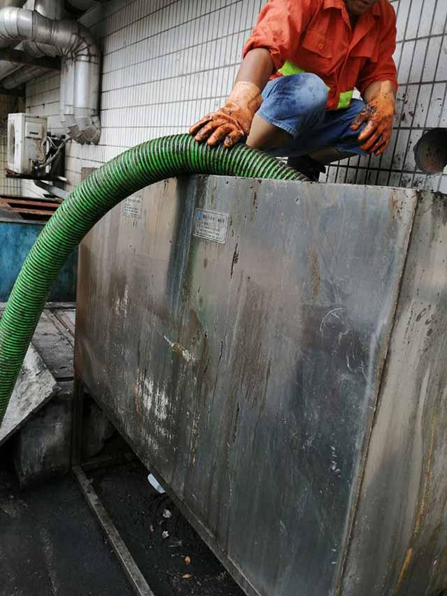 长宁区大小机械隔油池清理流程,隔油池清理