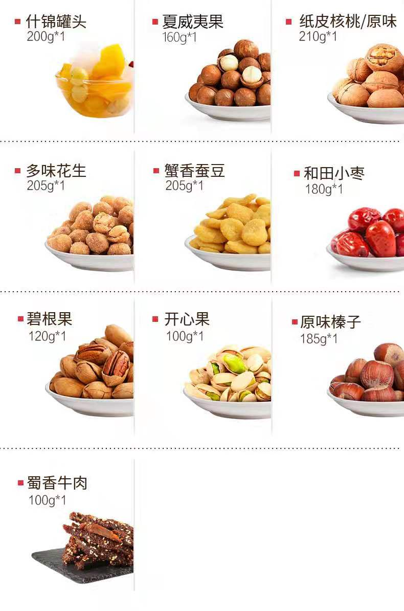 直銷三只松鼠堅果禮盒「上海有印良品電子商務供應」