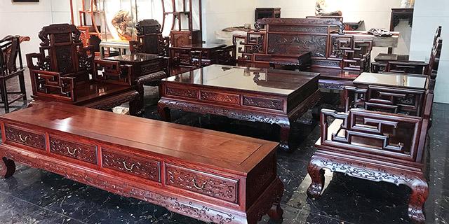 青岛红木家具沙发,红木家具