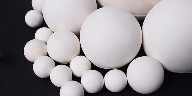 贵州化工陶瓷填料惰性氧化铝瓷球厂家直供 淄博博迈陶瓷材料供应