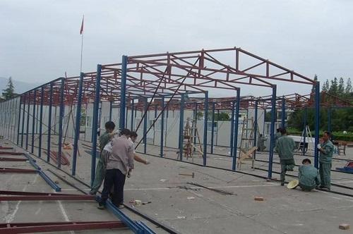 寧波彩鋼板活動房價格 真誠推薦 寧波掙友工程安裝供應