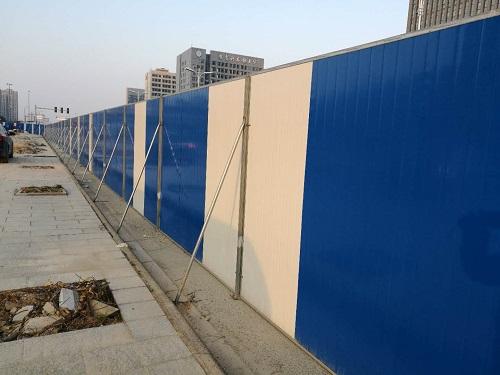 宁波彩钢板围挡哪家强 信息推荐 宁波挣友工程安装供应