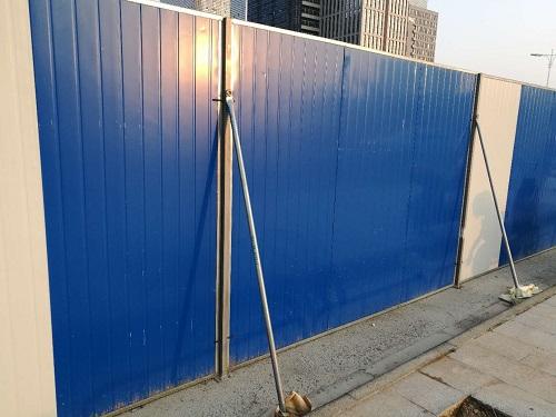 寧波優良彩鋼板圍擋質量材質上乘 值得信賴 寧波掙友工程安裝供應