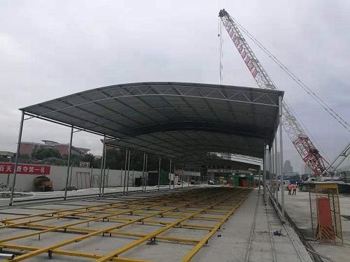宁波知名钢筋棚值得信赖 欢迎来电 宁波挣友工程安装供应