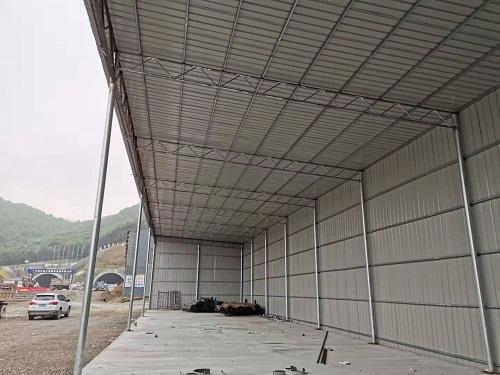 浙江专用钢筋棚质量材质上乘 抱诚守真 宁波挣友工程安装供应