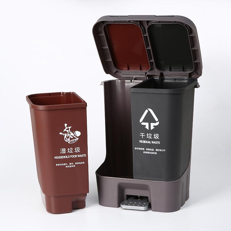 北京小型分类垃圾桶规格尺寸,分类垃圾桶