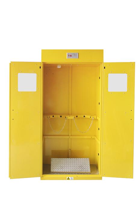 甘肅實驗室優質全鋼氣瓶柜定制,全鋼氣瓶柜