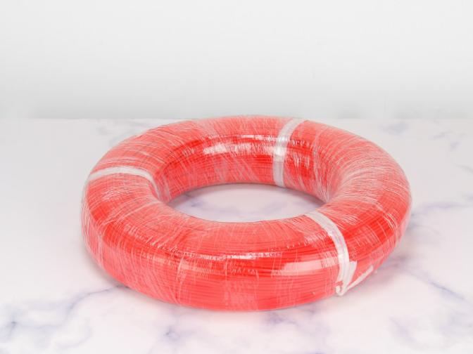 江门红色硅胶编织线批发厂家 服务为先「中山市平旺电器供应」
