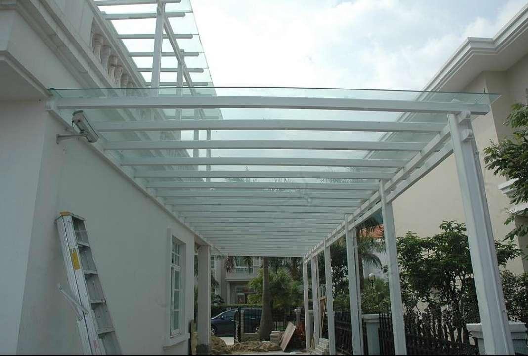 乌鲁木齐钢结构阳光雨棚要多少钱,雨棚图片