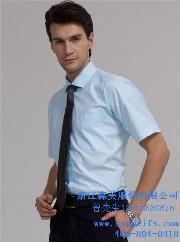 纯棉夏季工作服定做穿棉衬衫定做厂家纯棉polo衫定做工厂 森美供
