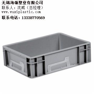 无锡加厚塑料箱厂家直销 无锡塑料箱制造商 海颂供