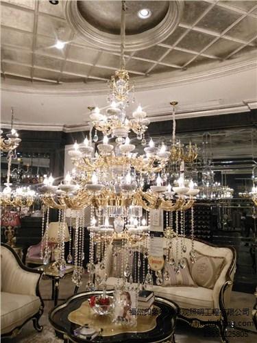 福州印象新诚分享专业水晶灯的选购常识