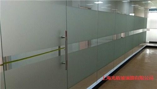 办公室玻璃隔断贴膜