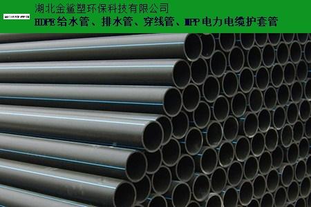 鄂州HDPE穿线管生产厂家 欢迎来电 湖北金鲨塑环保科技供应