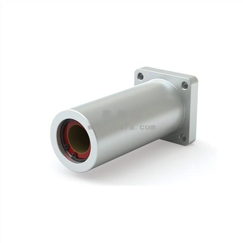 方形双法兰轴承安装架 PBC DFPC系列 阳极氧化铝外壳