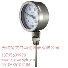 带热电阻双金属温度计厂家带热电阻双金属温度计报价带热电阻双金属温度计型号 锐文供