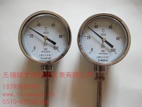 提供无锡不锈钢双金属温度计厂家报价锐文供