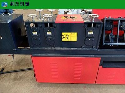 河北大棚管鋼管調直除銹一體機優質商家 邢臺市潤東機械制造供應