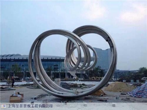 文化广场不锈钢雕塑价格「上海圣景景观工程供应」