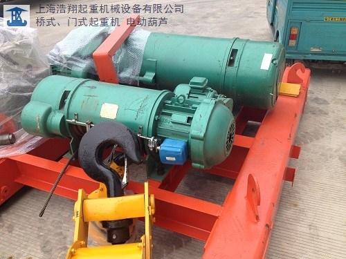 江苏正宗电动葫芦值得信赖 上海浩翔起重机械设备供应