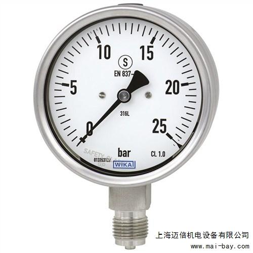 提供上海安全型压力表厂家迈倍供
