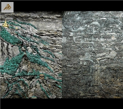 湖北铜浮雕高品质的选择 浦宇供应