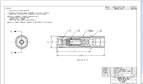 HUCK99-3201铆枪头-代理-沃顿供