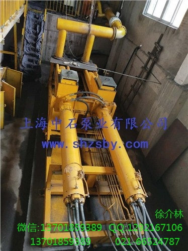 工业活塞充填泵HSP25100P 工业充填泵 矿用充填工业泵-上海中石