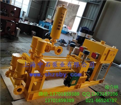 渣浆砂浆输送泵 液压活塞浓浆泵 液压活塞粘稠料泵-上海中石