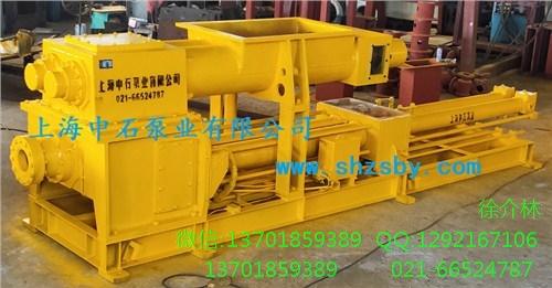 污泥泵 污泥高压输送液压活塞泵 液压驱动的S阀污泥输送泵-上海中石